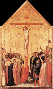 Art in the Middle Ages - Crucifixion by Giotto
