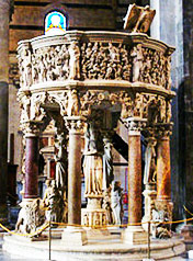 Medieval Art: Giovanni Pisano - Pulpit