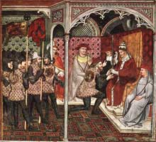 Pope Alexander III Receives an Ambassador