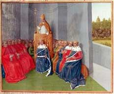 Medieval-Church-Pope Urban II Preaching the Crusade