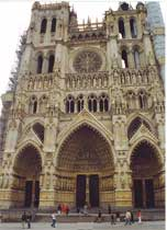 Medieval Gothic Cathedrals-Amiens Cathedral