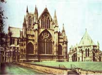 Medieval Gothic Cathedrals-Lincoln Cathedral