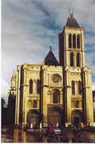Medieval Gothic Cathedrals-The Basilica Of Saint-Denis
