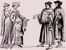 Middle Ages Life - Noble Lady and Maid of Honor