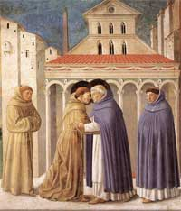 Meeting of Saint Francis and Saint Dominic